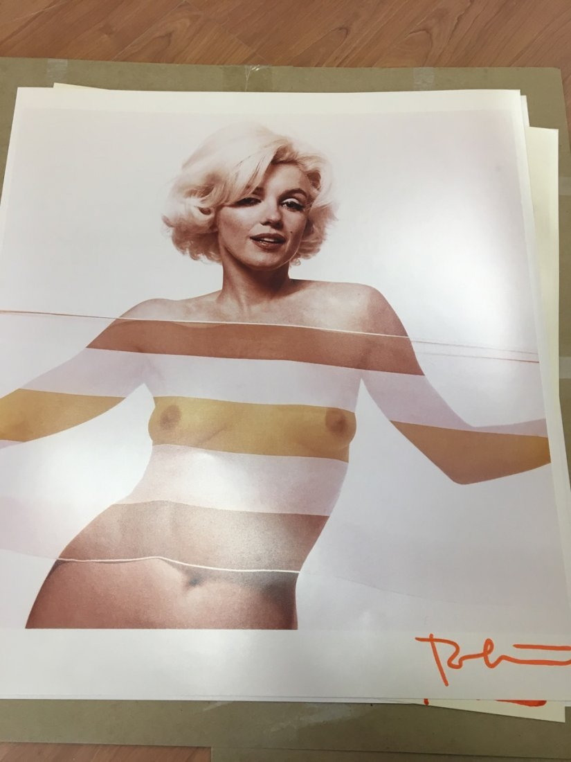 Marilyn Monroe Portfolio of 10 Photographs, Bert Stern - 5