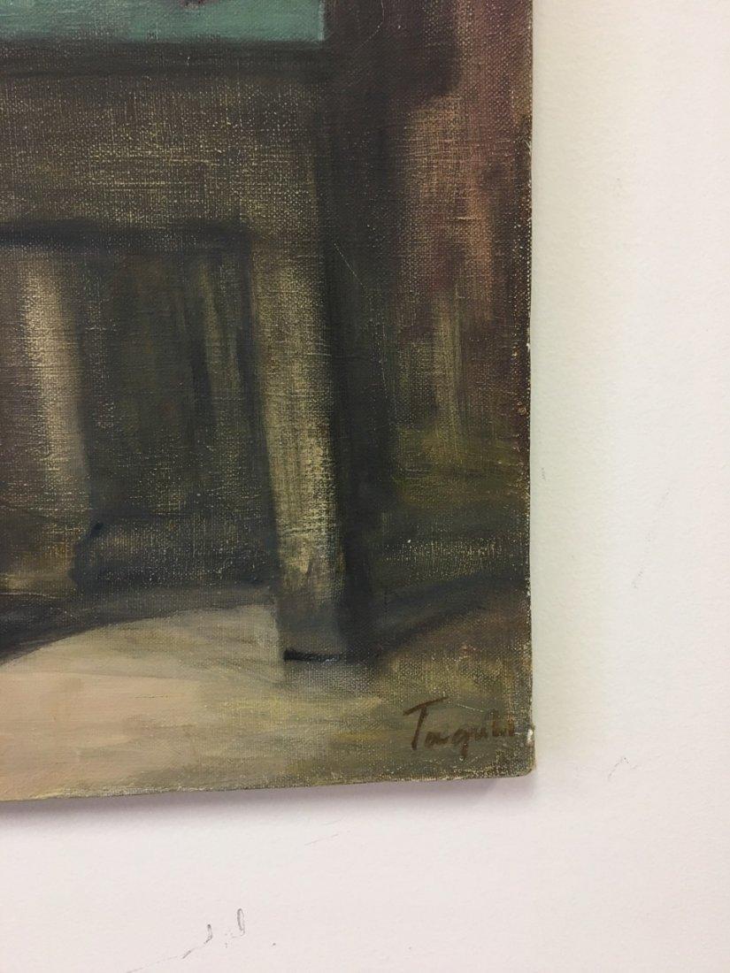 "Taguhi Barsegin Russian Artist, ""Waiting"" Oil on canvas - 2"