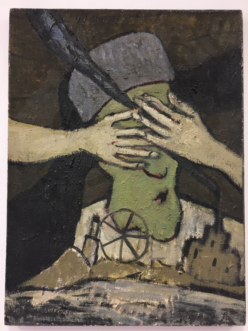 Pabuh, Russian Artist, Oil on Canvas, dated 1967