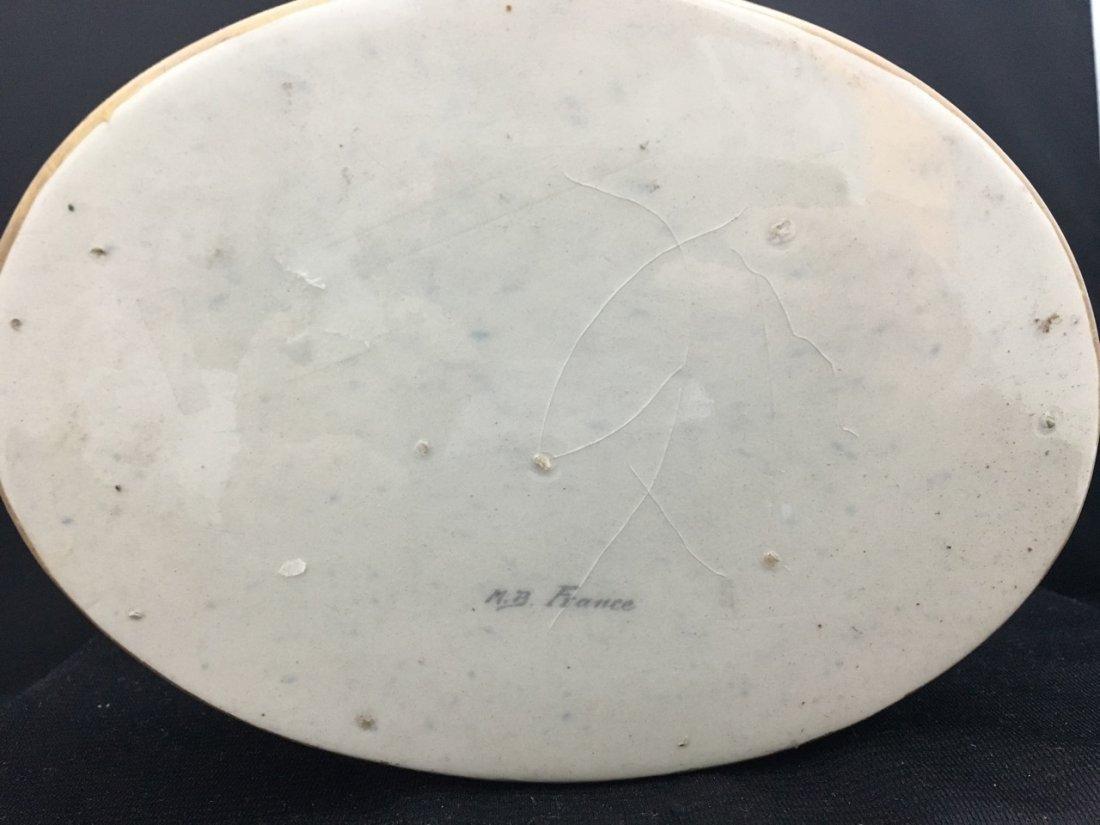Sèvres Style Oval-Shaped Portrait Box - 4