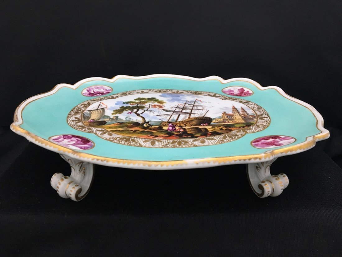 Meissen Footed Tray, 19th-Century