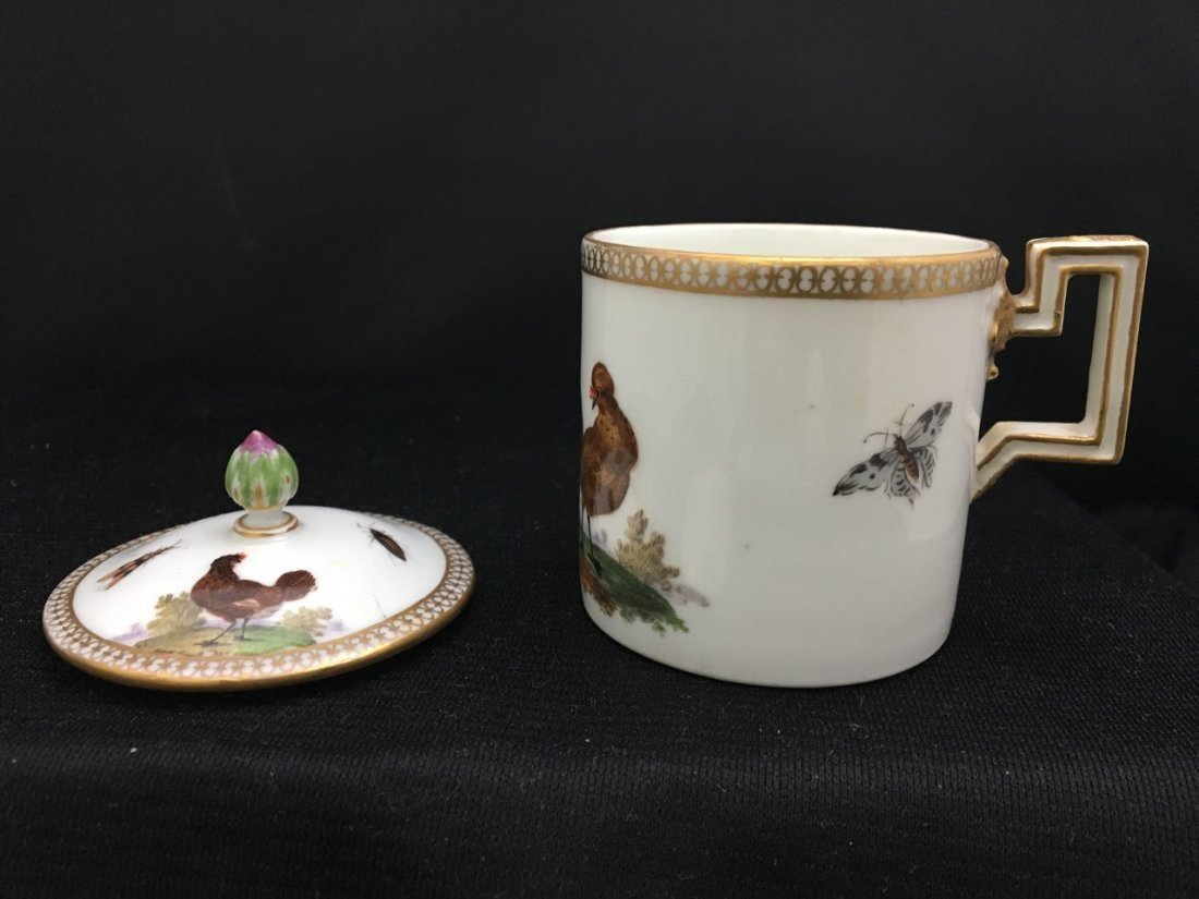 Meissen Cup and Saucer and Cover, Marcolini Period - 2