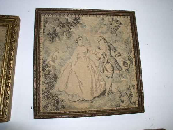 10: Woven Victorian tapestery picture 10 in square