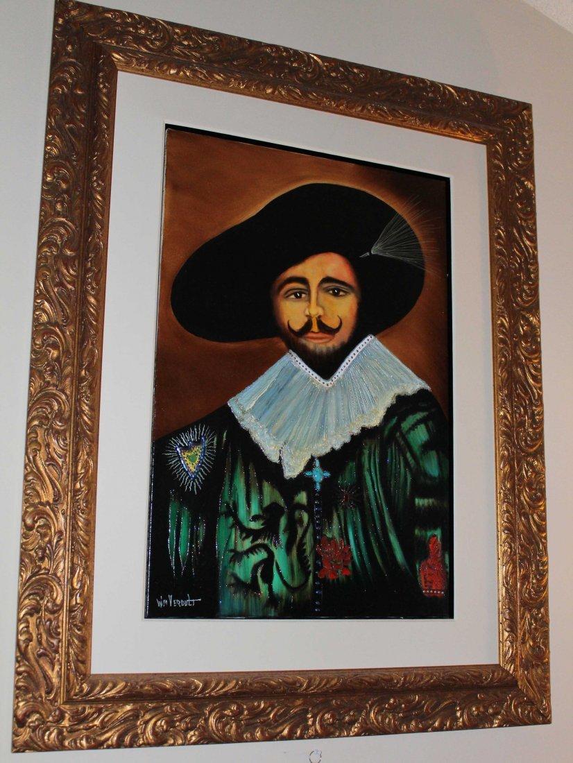 """Original Oil William Verdult """"Untitled"""""""