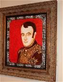 """Original Oil William Verdult """"Young Napoleon"""""""