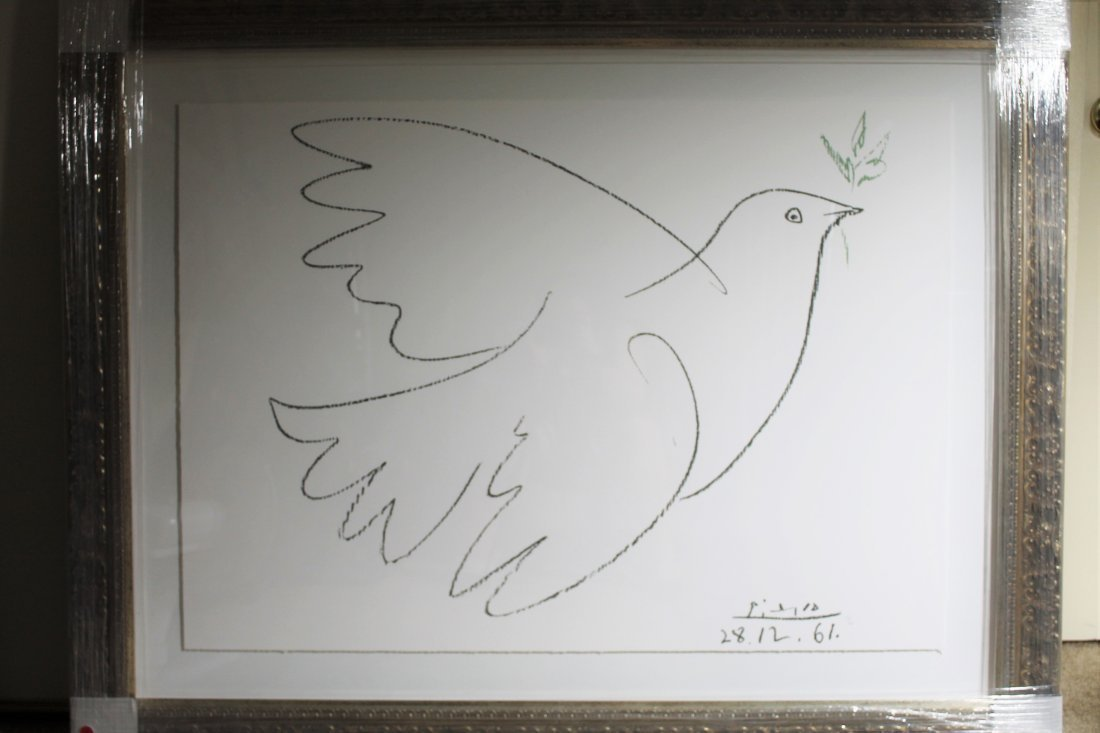 Large Picasso giclee print Dove of Peace