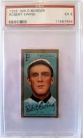 1911 Robert Ewing t205 t-205 PSA 5 Phillies