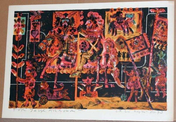 807: Norman Laliberte, Tarot Cards, Signed Lithograph