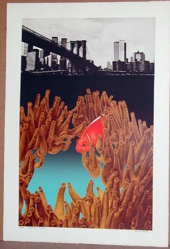 908: Michael Knigin, Invading Knight, Signed Lithograph