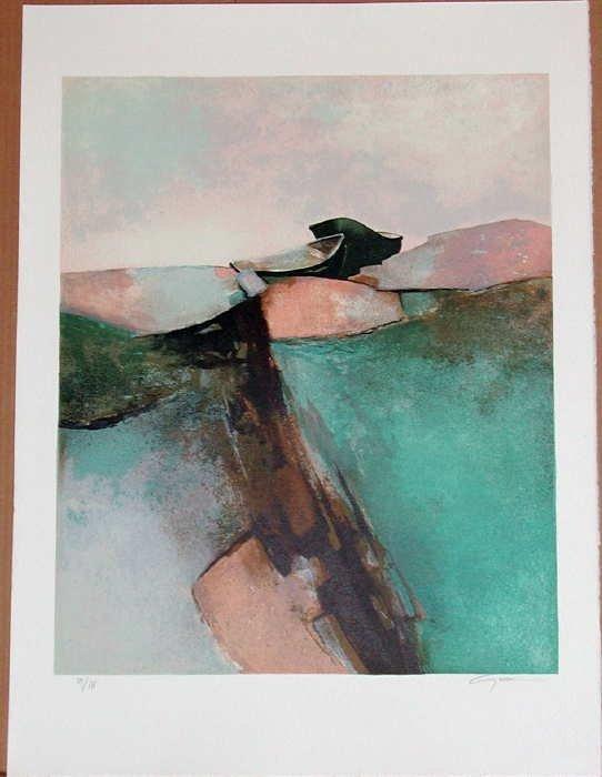 709: Claude Gaveau, Emerald Coast, Signed Lithograph