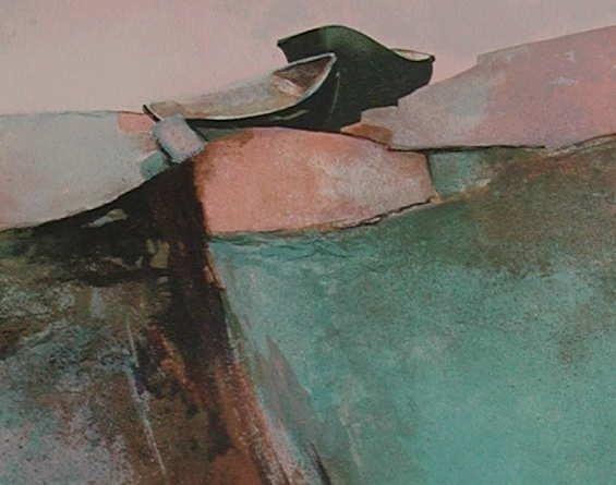 709: Claude Gaveau, Emerald Coast, Signed Lithograph - 2
