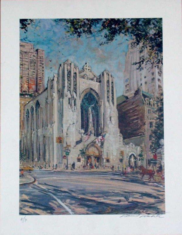 105: Kamil Kubik, Church of Heavenly Rest NY, Signed Pr