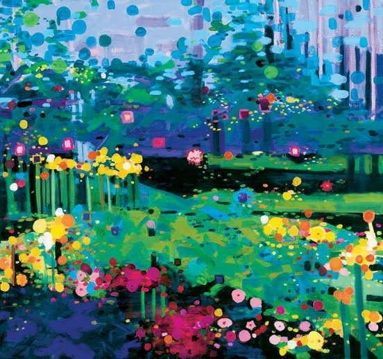 795H: Anne Boysen, Joys of Summer, Signed Canvas Print