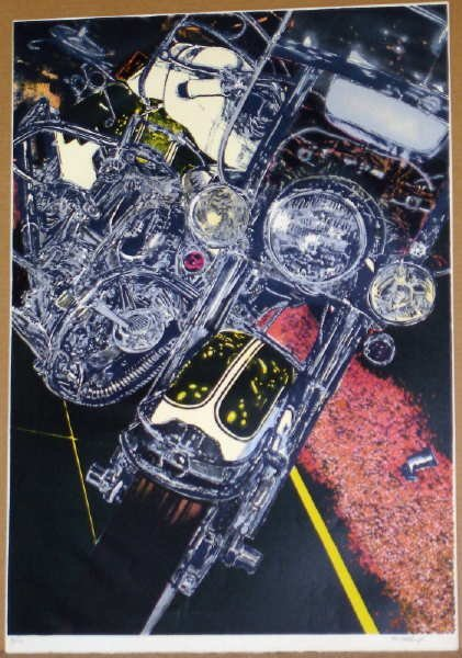 978: Tom Blackwell, 56 Harley, Signed Lithograph