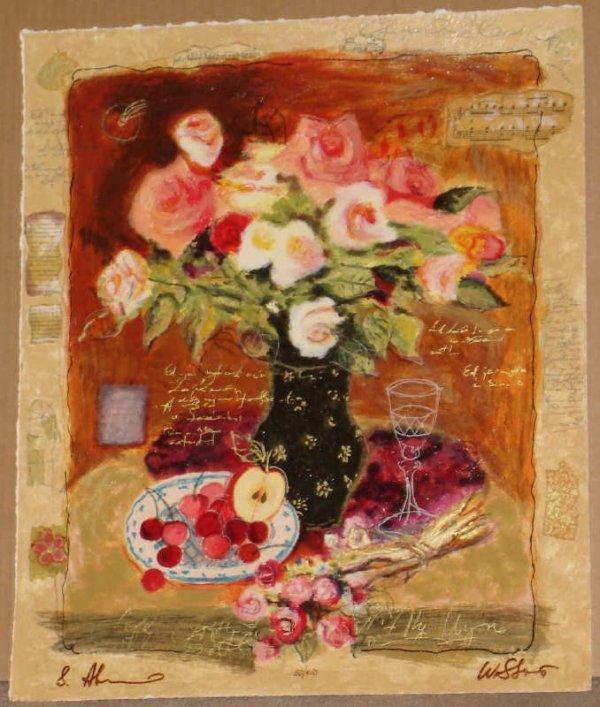 318A: Alexander Wissotsky, Evening, Signed Serigraph