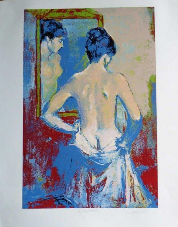 969D: Jan De Ruth, Reflections, Signed Lithograph