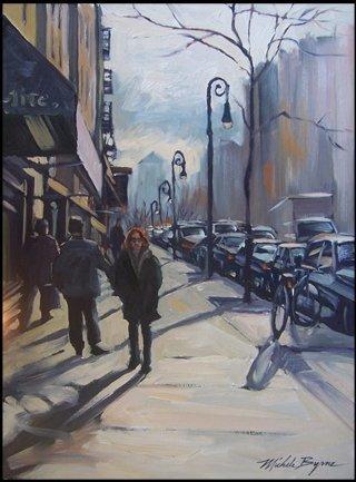 753B: Michele Byrne, Homeward Bound, Oil on Canvas