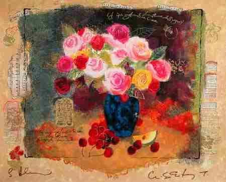 101: Alexander Wissotsky, Abundance Signed Serigraph