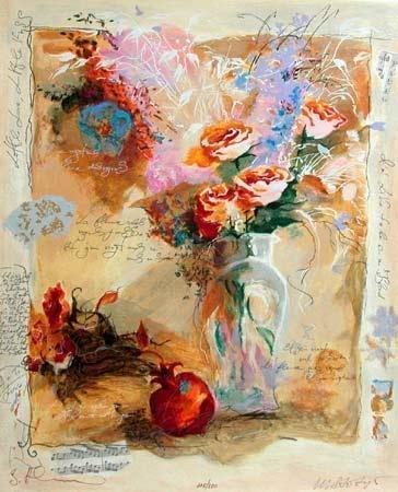 102: Alexander Wissotsky, Rising Spirit Serigraph