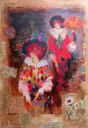 105: Alexander Wissotsky, Memories of Venice Serigraph
