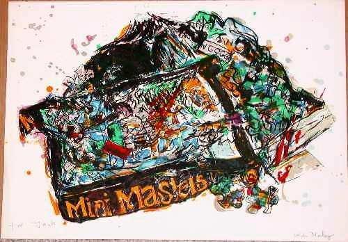 121: Malcolm Morley, Arles Stone Litho