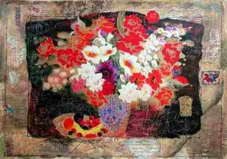 303: Alexander Wissotsky, Symphony in Colors, Serigraph