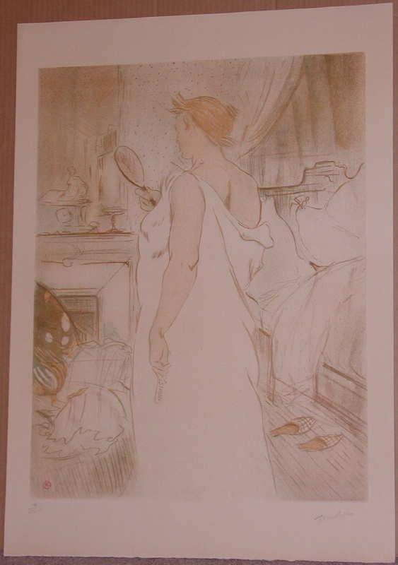 322: Henri Toulouse-Lautrec, Elles,  Albi Museum Litho