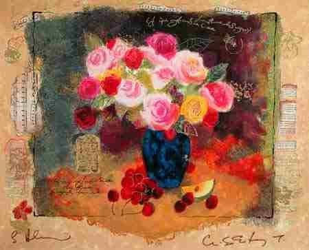 500: Alexander Wissotsky, Abundance, Signed Serigraph