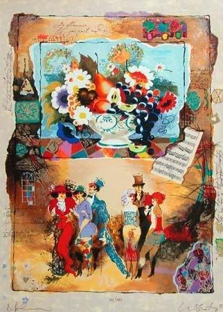 506: Alexander Wissotsky, Sweet Memories,  Serigraph
