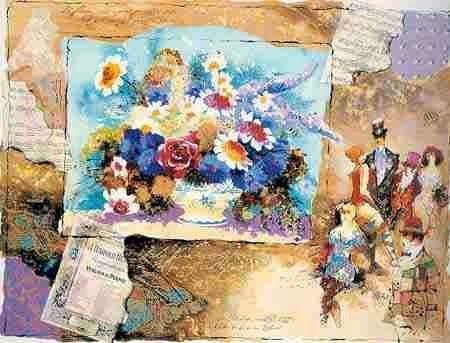 513: Alexander Wissotsky, Nocturne, Signed Serigraph