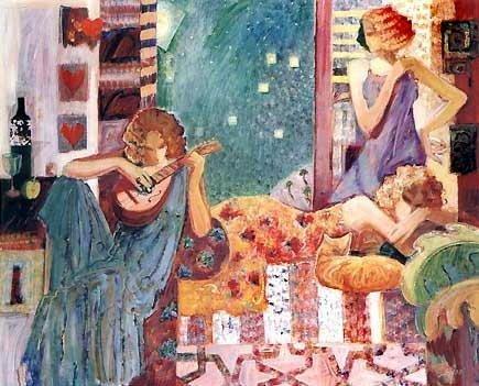 Sabzi, Anticipation, Signed Giclee on Canvas