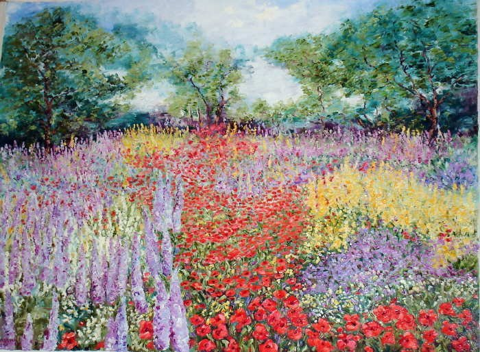 Wanda Kippenbrock, Spring's Glorious Arrival, Canvas