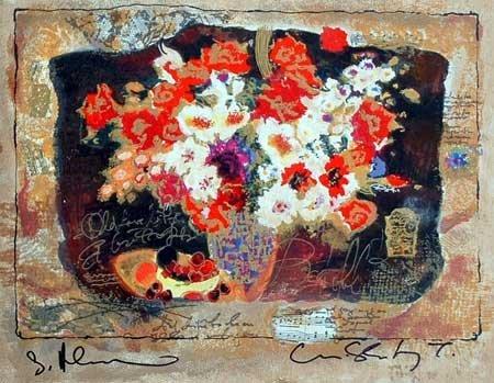 102: Alexander Wissotsky, Symphony in Colors, Serigraph
