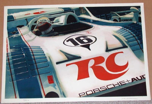 118: Ron Kleemann, Can-Tankerous, Signed Litho