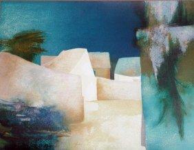 Claude Gaveau, Les Glycines, Signed Lithograph