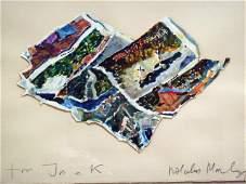 Malcolm Morley, Parrot Jungle, Framed Watercolor
