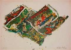 Malcolm Morley, Parrot Jungle, Signed Litho