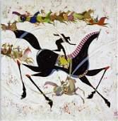 Li Zhong-Liang, Classic Horse Giclee on Canvas