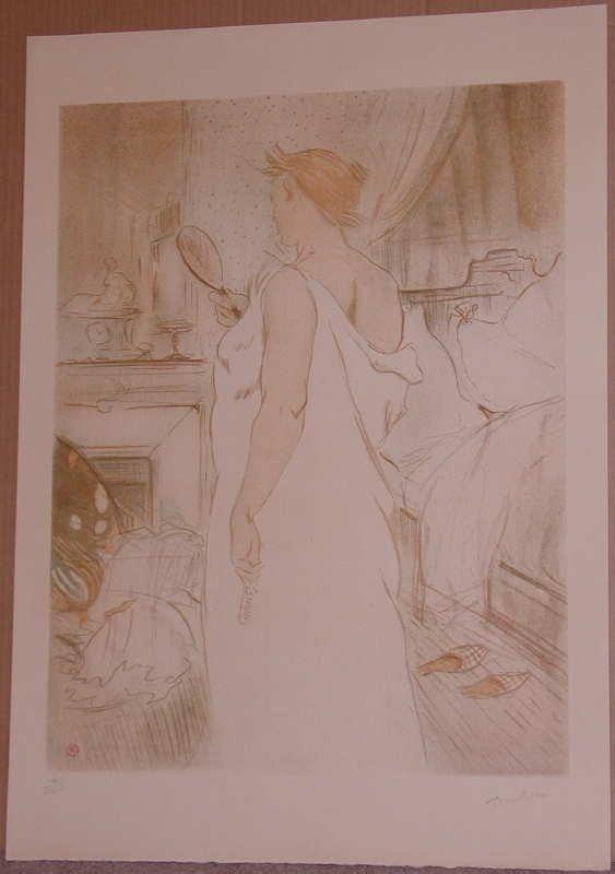 305: Henri Toulouse-Lautrec, Elles, Albi Museum Litho