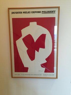 Jacques Melki Exhibition Poster