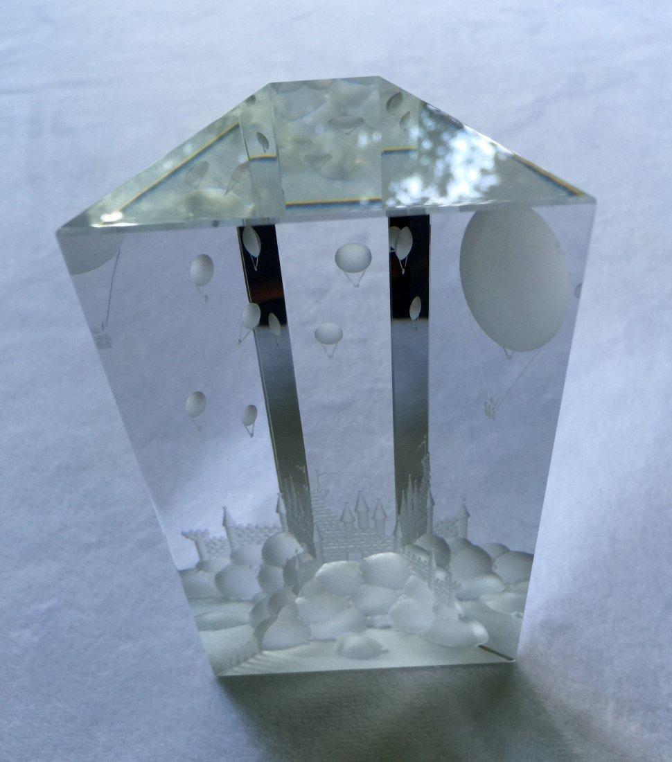 Hoya Glass Sculpture