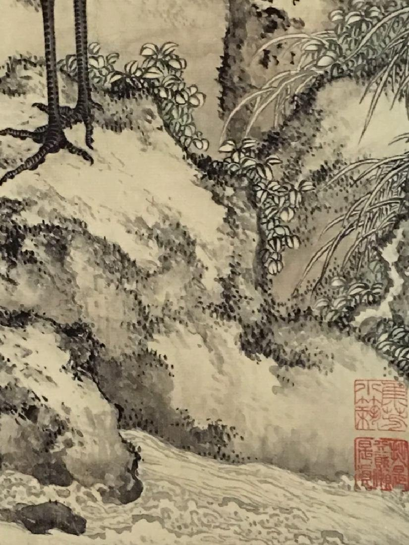 Chinese Watercolor Painting with birds - 5