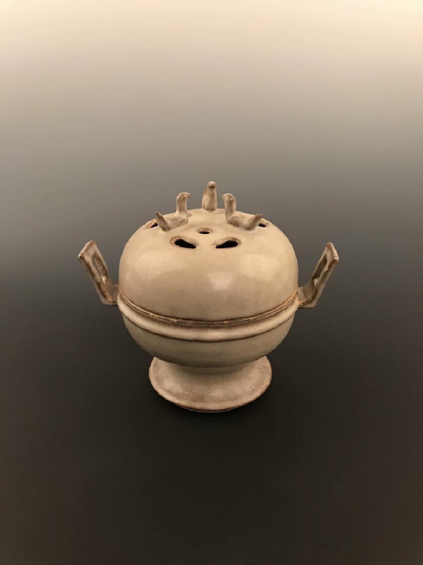 Chinese Celadon Glazed Censer