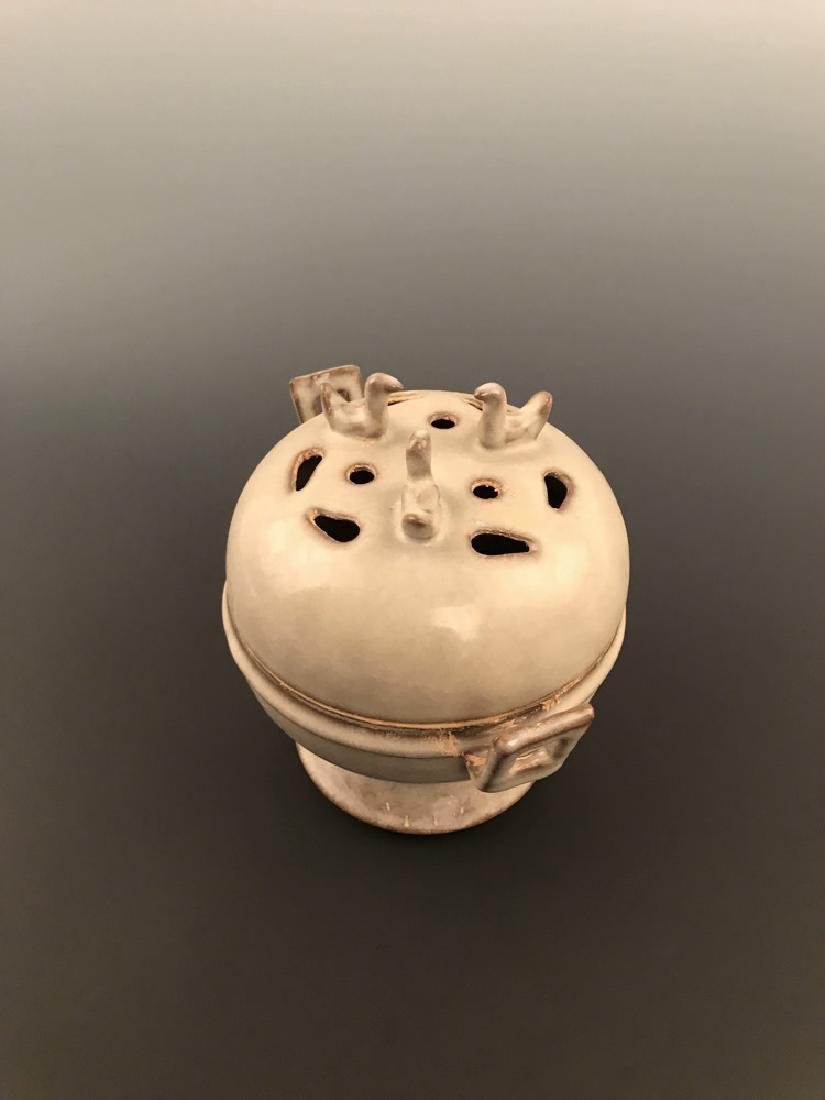 Chinese Celadon Glazed Censer - 2