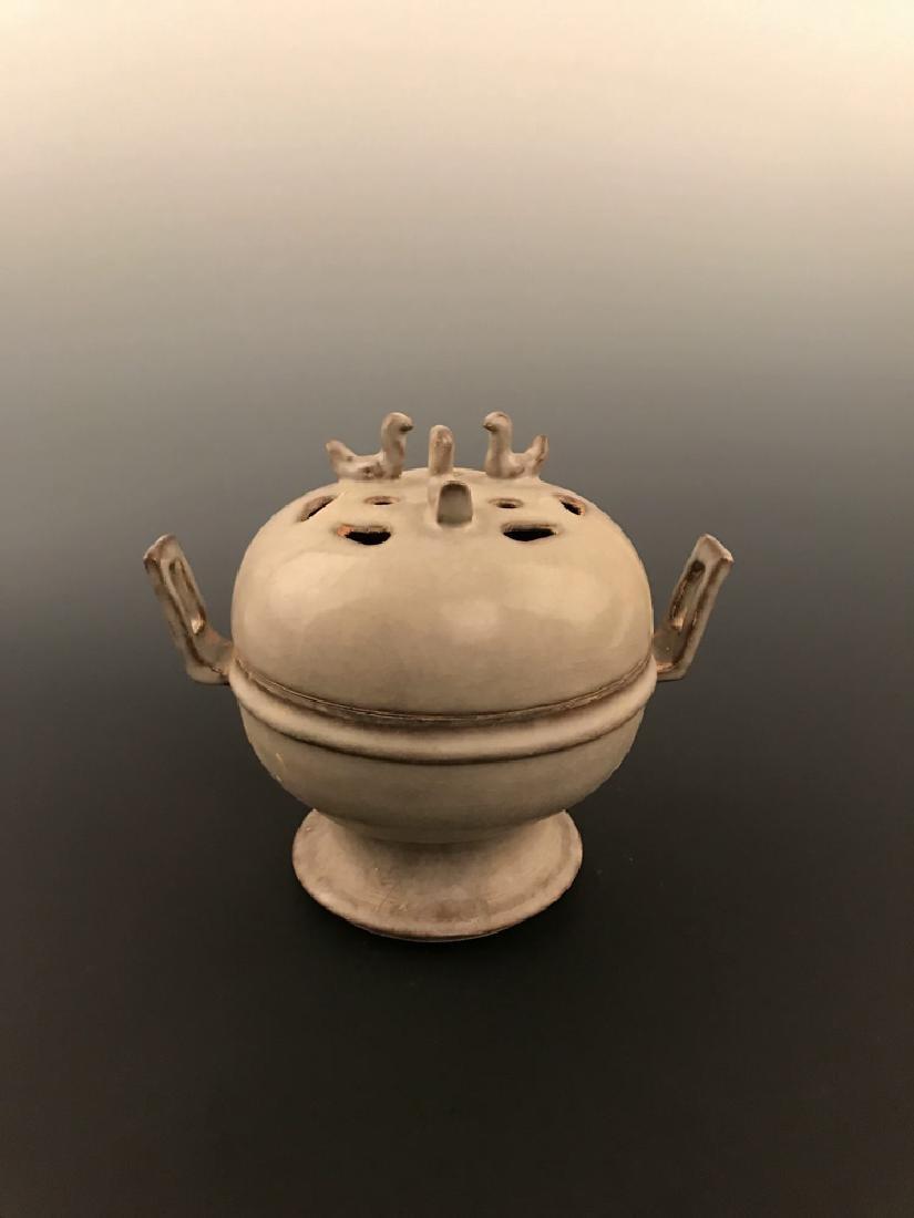 Chinese Celadon Glazed Censer - 4