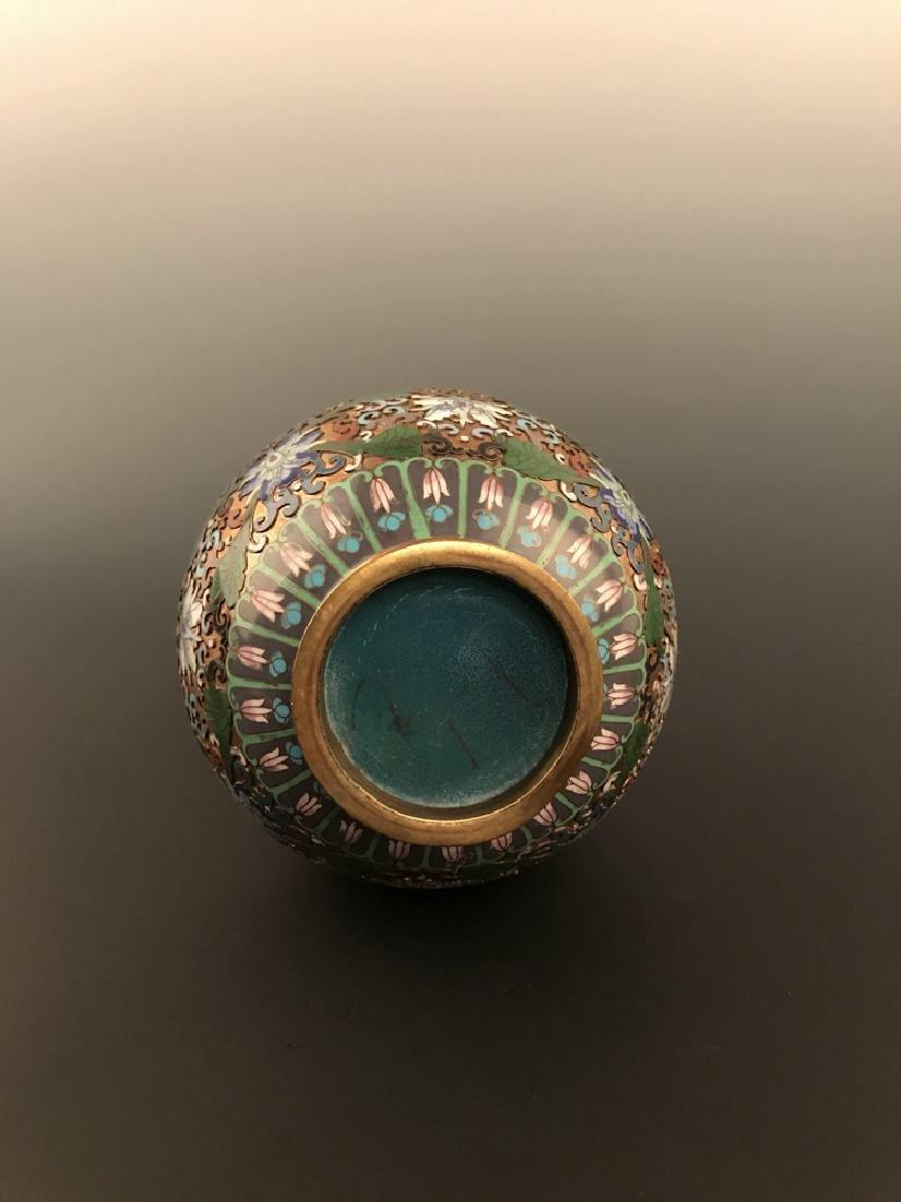 Chinese Antique Closionne Vase - 4