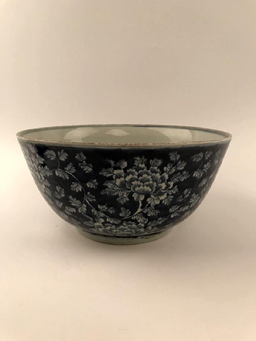 Chinese Blue and White Bowl with Kangxi Mark