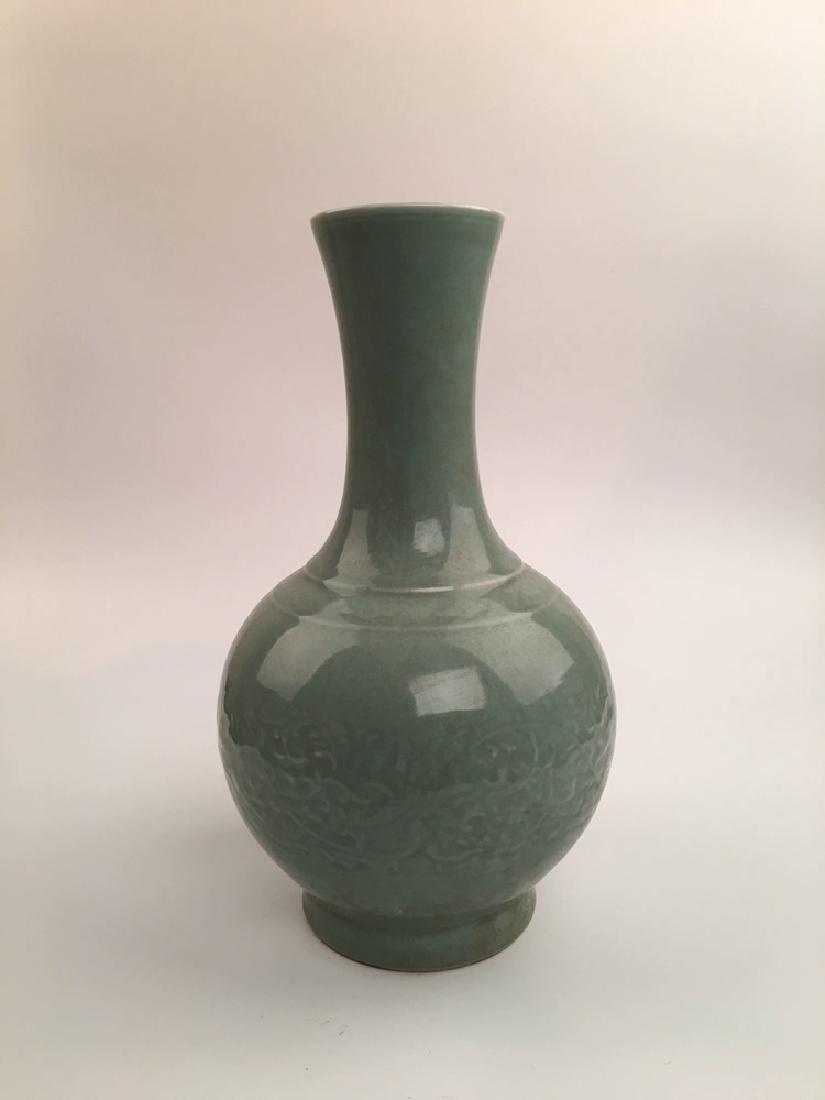 Chinese Longquan Porcelain Vase - 2
