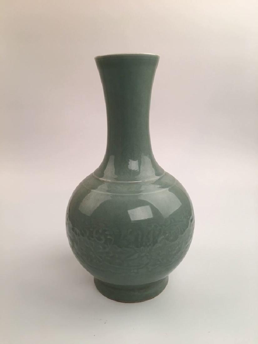Chinese Longquan Porcelain Vase - 3