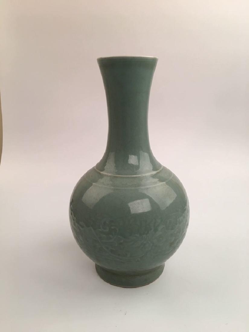 Chinese Longquan Porcelain Vase - 5